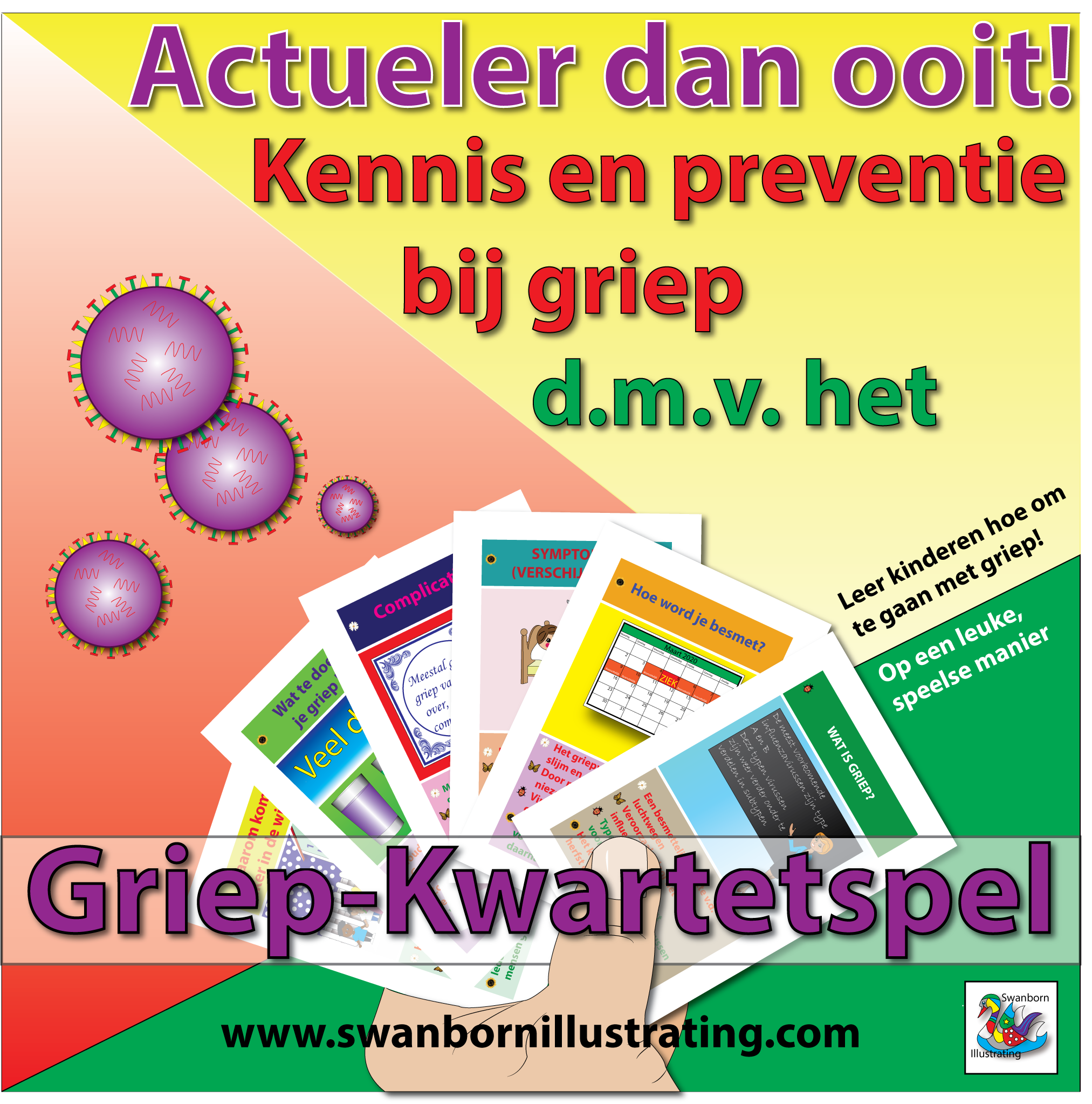 Advertentie-Griepkwartet